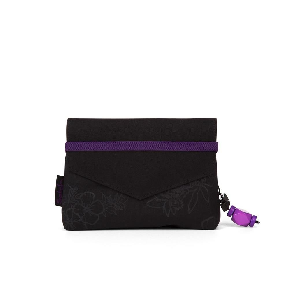 Satch Klatsch Girls Bag Purple Hibiscus