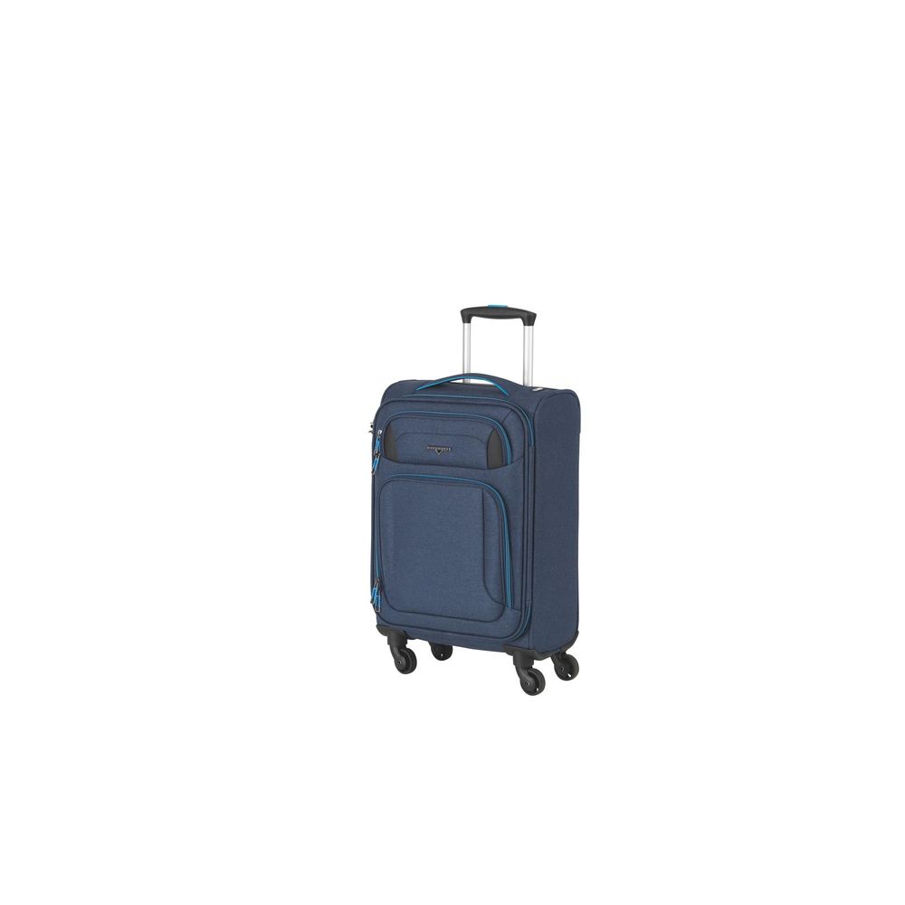 Airstream Trolley S,Cabin Size 4 Rollen blue/lightblue