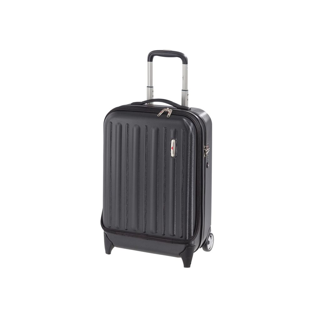 Profile Plus Business Trolley hoch Black Grained