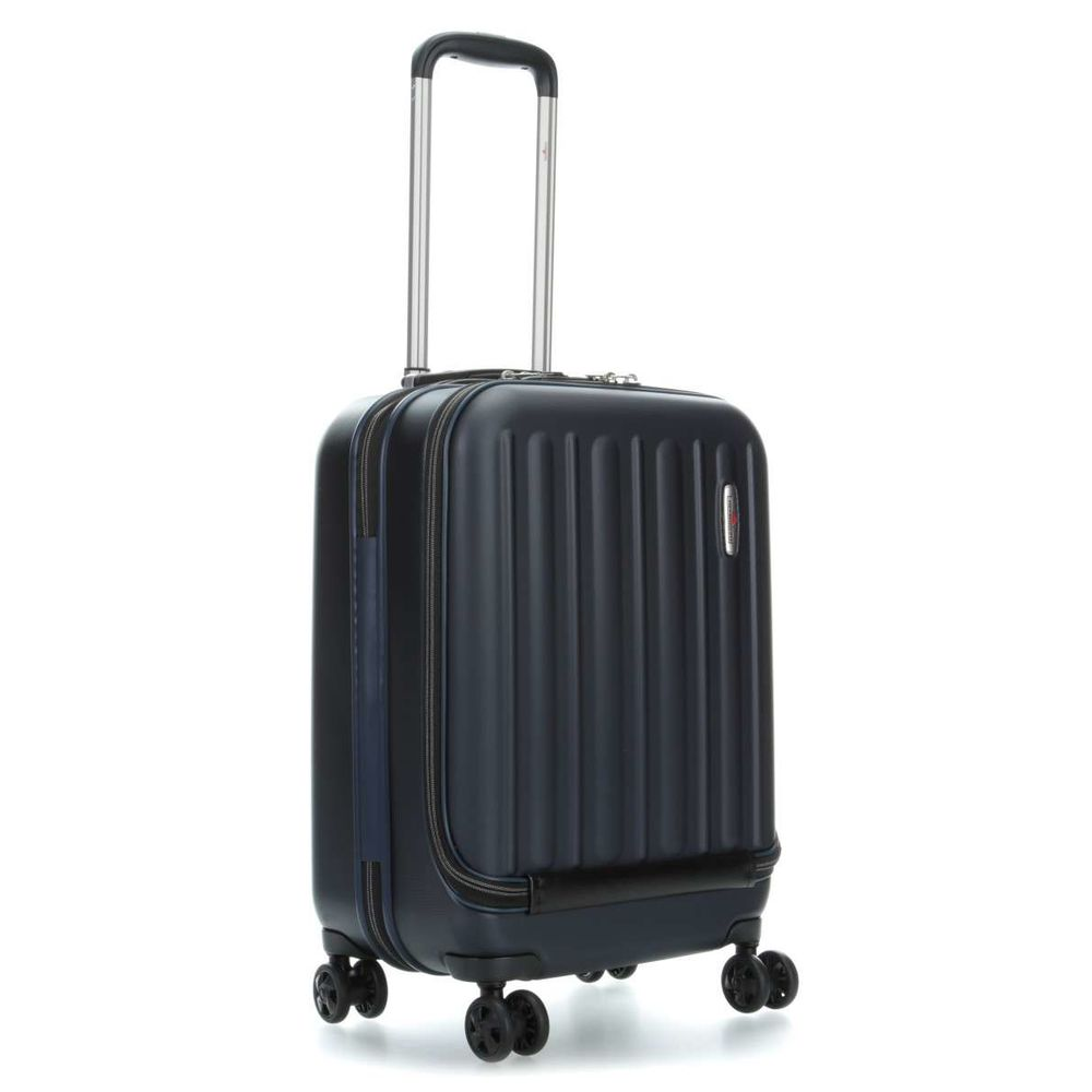 Profile Plus Business Trolley hoch Night Blue