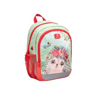 Belmil Kiddy Plus Kinderrucksack Animal Forest Hedgehog