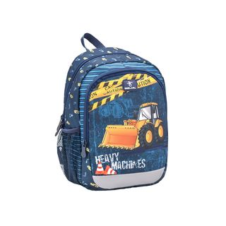 Belmil Kiddy Plus Kinderrucksack Heavy Machinery